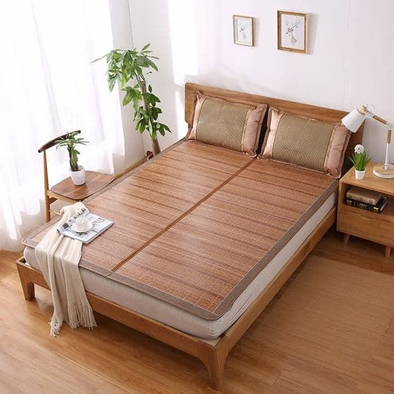 high quality bamboo mat for summer cool feeling sleeping mat for bed rattan new