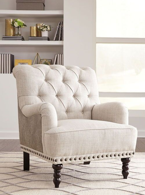 Ashley Tartonelle Ivory Taupe Accent, Ashley Furniture Living Room Chairs
