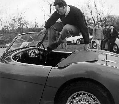 Austin-Healey. Do not, repeat, do not try this at home!