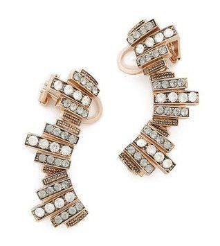 Pin for Later: Fix Your Bad Bridesmaid Dress With These 7 Tips  Ca&Lou Ca & Lou Lou Lou Loco Ear Crawlers (£310)
