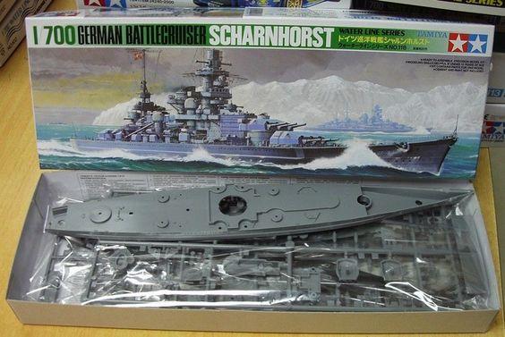 Scharnhorst model kit