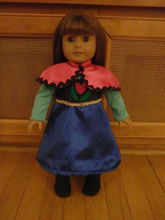 For Kerry only  Anna Doll Dress for American Girl by LadnyCouture