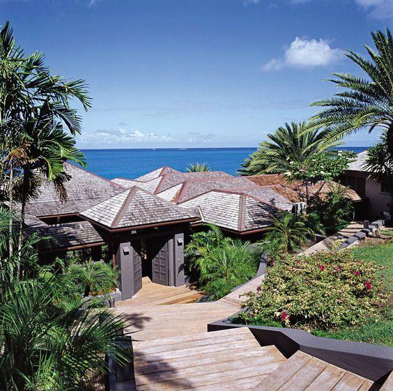 Giorgio Armani Beach home in Antigua