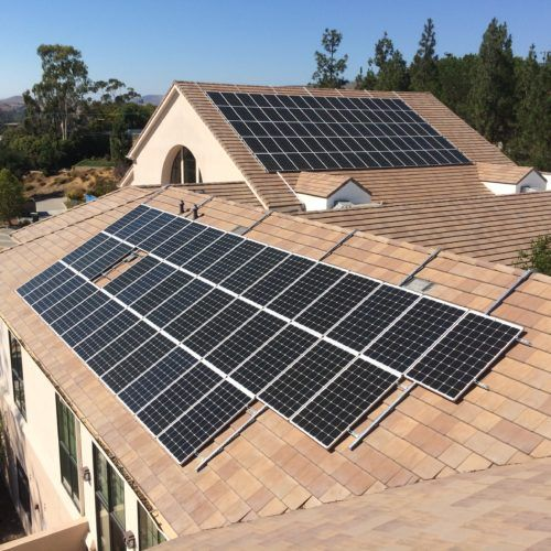 Is It Possible To Install Solar On A Sloped Roof Without Drilling Holes In 2020 Solar Panels Solar Panels Roof Best Solar Panels