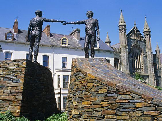 Irlande : le long chemin vers la réunification de l'île  : Geo.fr