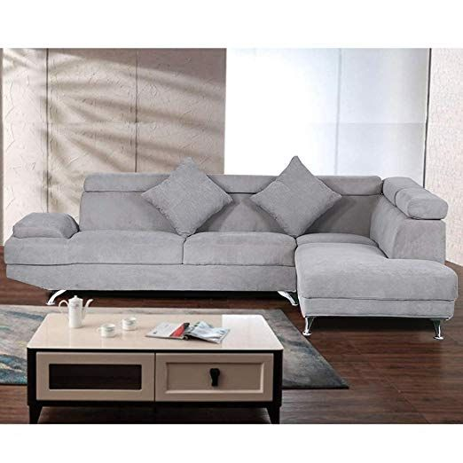 Amazon.com: Corner Sofas Sets Living Room, Leather Sectional ...