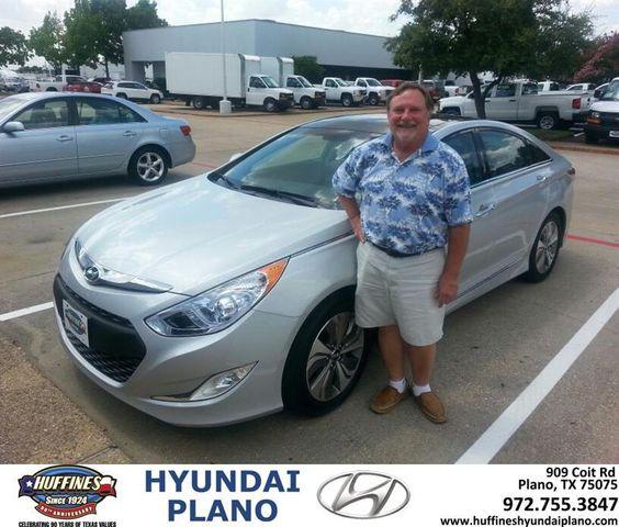 """https://flic.kr/p/uKXosh   #HappyAnniversary to Steve Roelofs on your 2014 #Hyundai #Sonata Hybrid from Frank White at Huffines Hyundai Plano!   <a href=""""http://www.huffineshyundaiplano.com/?utm_source=Flickr&utm_medium=DMaxxPhoto&utm_campaign=DeliveryMaxx"""" rel=""""nofollow"""">www.huffineshyundaiplano.com/?utm_source=Flickr&utm_m...</a>"""