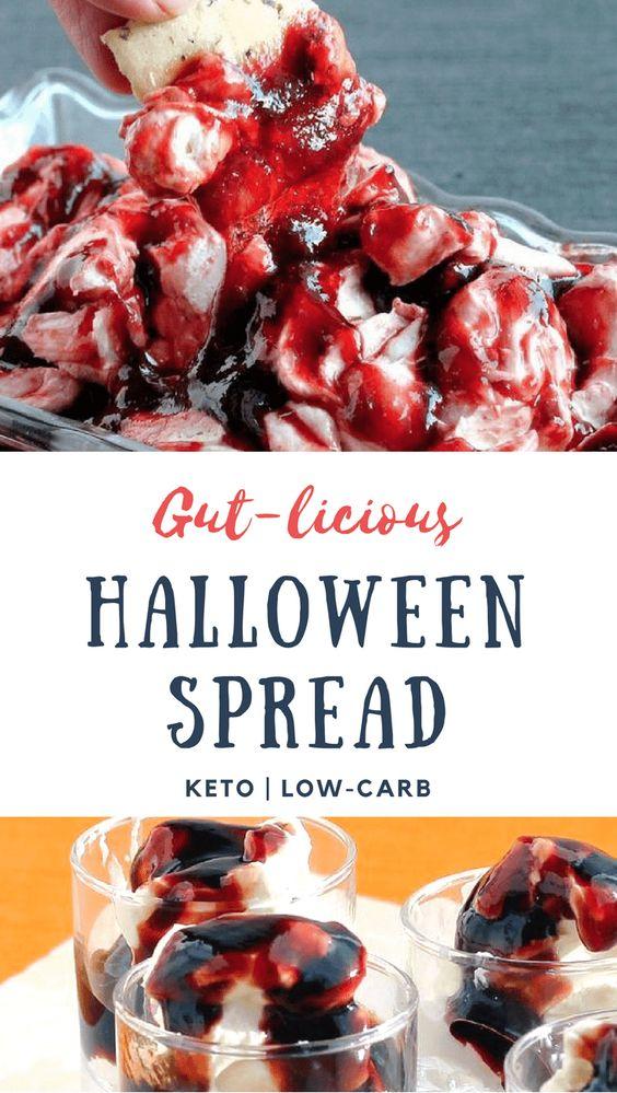 low carb spooky halloween spread recipe - todaywedate.com  - low carb/low carb  snacks/keto treats/ keto halloween/keto treats for halloween/low carb dessert/ keto snacks/keto dessert for halloween/keto recipes for halloween/Easy keto recipes/keto chocolate/halloween food/creepy halloween food/spooky treats/halloween party food/halloween party ideas/