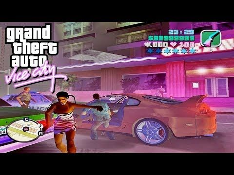 Gta Vice City Returned To The Channel 1080p 2002 Youtube City Super Gta City Games