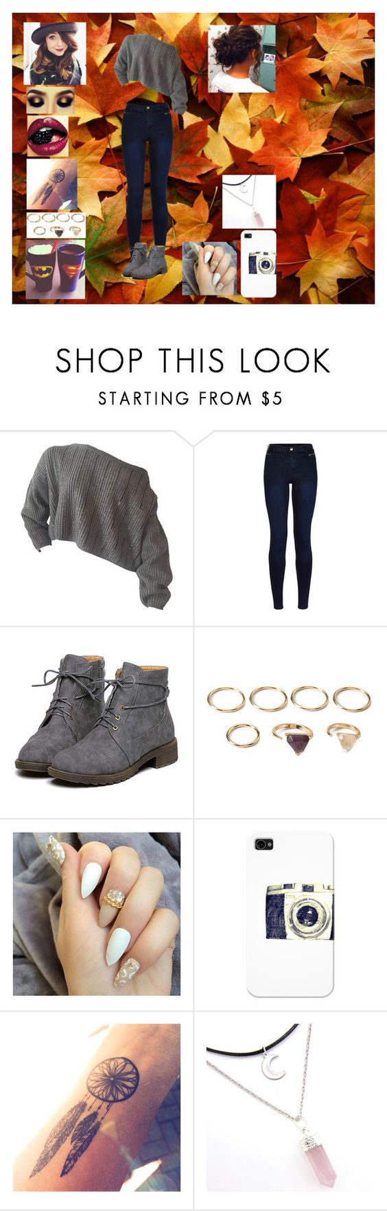 """Untitled #891"" by werewolflover90 ❤ liked on Polyvore featuring Urban Bliss, Forever 21 and Casetify"