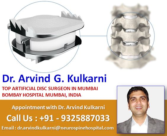 Dr. Arvind Kulkarni top artificial disc replacement surgeon in Mumbai