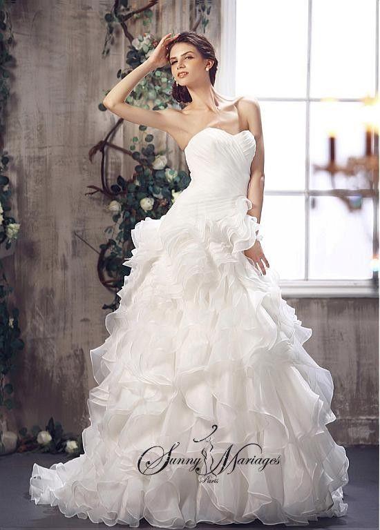 robe de mariee princesse robe de mariee originale tomy mariage mariage mariages - Tati Mariages