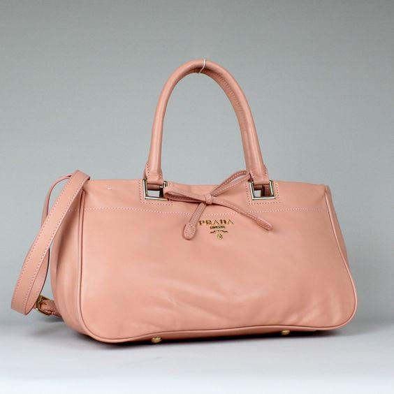 Prada Tote Bag BN8201 Pink 2012 Summer