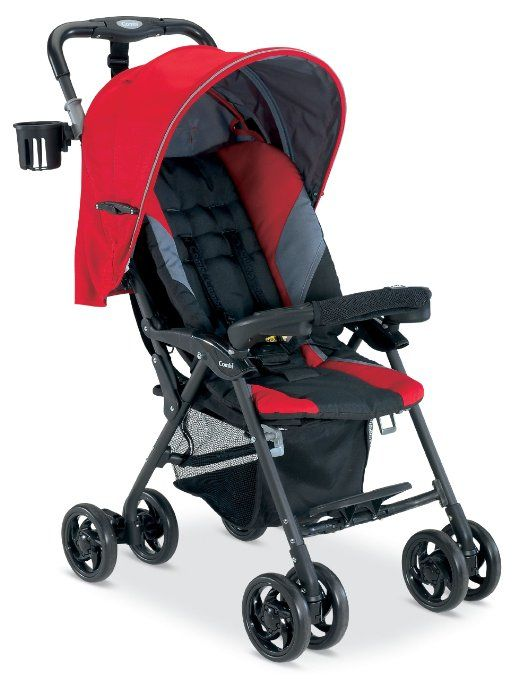 Exchange Btak system for this and combi carseat $119 Combi Cosmo Stroller, Red (Discontinued by Manufacturer)