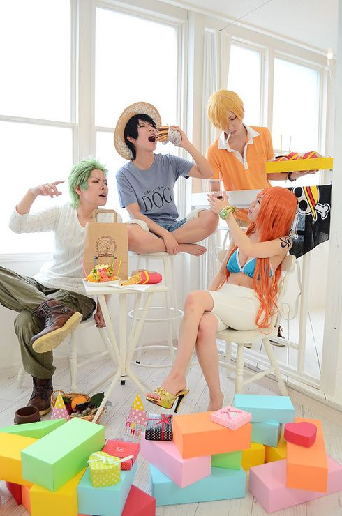 Fuck Yeah One Piece Cosplay