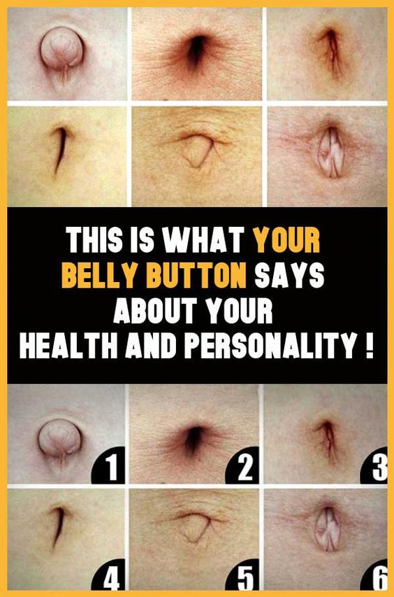 This Is What Your Belly Button Says About Your Health And Personality !