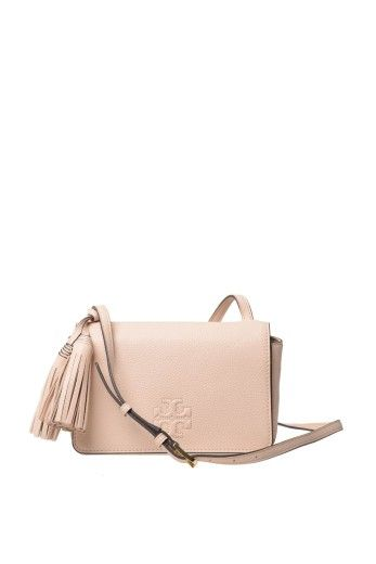 TORY BURCH Tory Burch Pebbled Leather Shoulder Bag. #toryburch #bags #shoulder bags #leather #lining