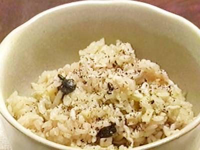 しらすの雑穀炊き込みご飯