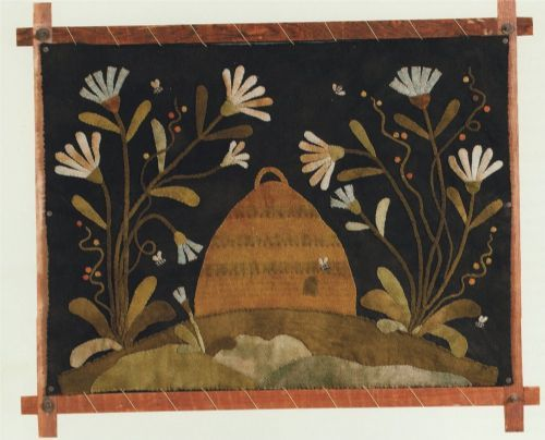Click to see full size image: Quilts Wool, Felt Wool, Fireplace Screens, Needle Art, Wool Work