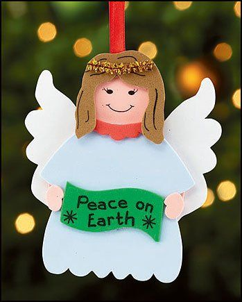 Christian christmas crafts christian christmas and peace for Peace crafts for sunday school