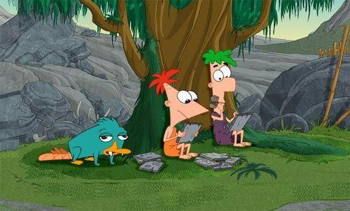 Phineas and Ferb.