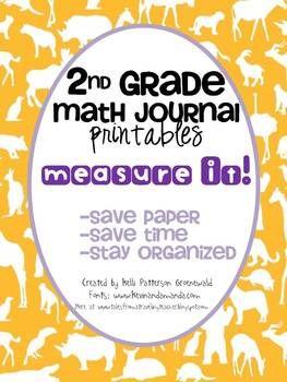 Math Journals: Measurement Printables-2nd Gr   Funny, The o'jays ...