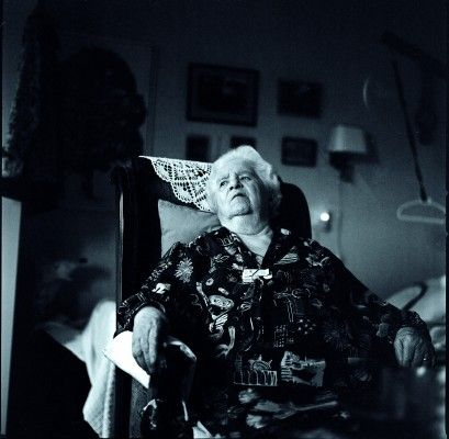 Grandma... Documentary, black and white, age, strength, nostalgic, emotion