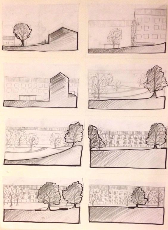 Technical drawing - interval By: Mischa Stæhr
