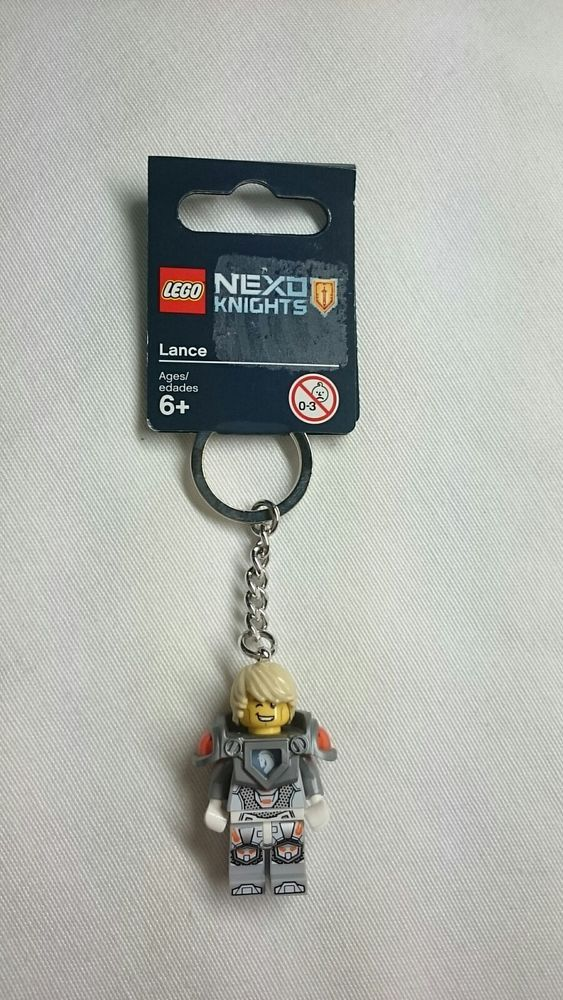 Lego Nexo Knights Lance Keyring 853524