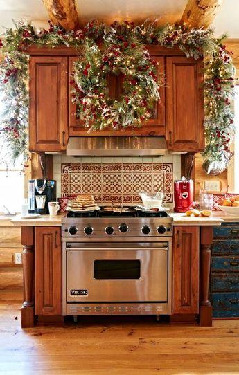 Christmas Kitchen Decorating Ideas Pinterest.46 Best Christmas Kitchen Decorating Ideas Christmas Stuff