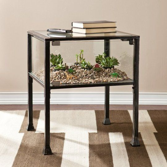 Here's What Happens When Furniture & Plants Get Together and Make Beautiful Living Table Babies