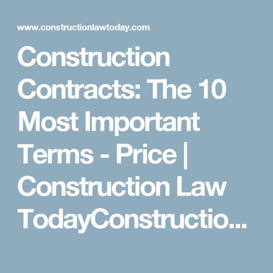 Construction Contracts Law - The Nevarez Law Firm Construction - construction management agreement