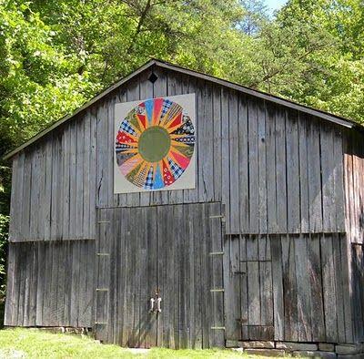 barn quilt, Menifee County, Kentucky