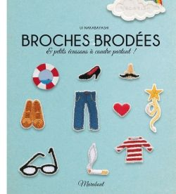Broches brodées