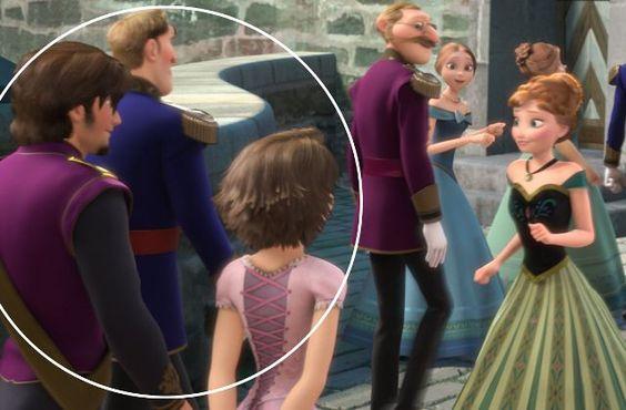 Et si les parents d'Elsa étaient morts en allant au mariage de Raiponce, s'échouant du côté de chez Ariel ?