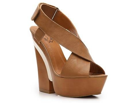 N.Y.L.A Krisscross Wedge Sandal