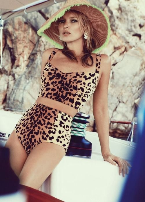Kate Moss: Sail Away - Vogue UK by Patrick Demarchelier, June 2013