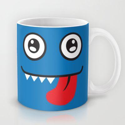 Blue+Monster+Mug+by+Freewheeler+-+$15.00