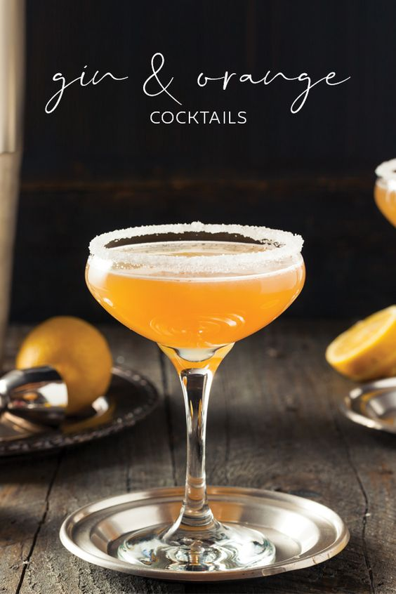 7 of the best gin and orange cocktail recipes | Craft Gin Club