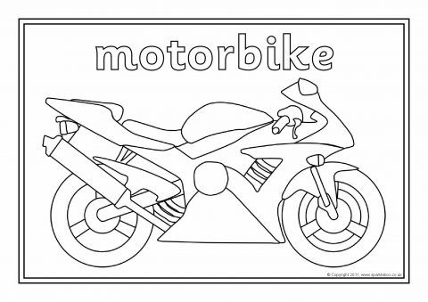 Transport Colouring Sheets Sb1973 Sparklebox Coloring Sheets