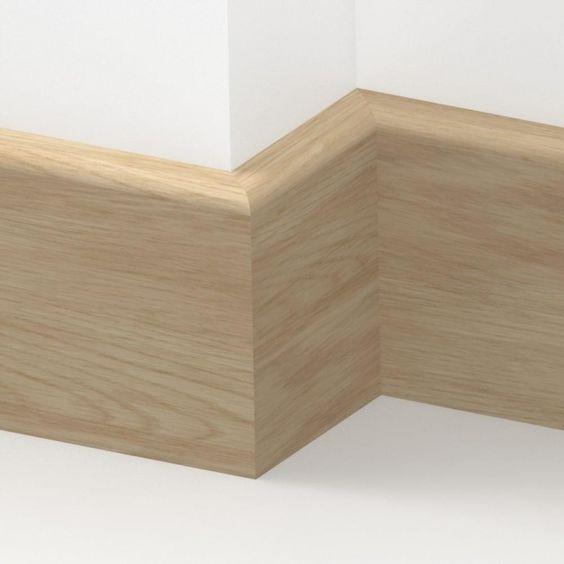 Bullnose baseboard