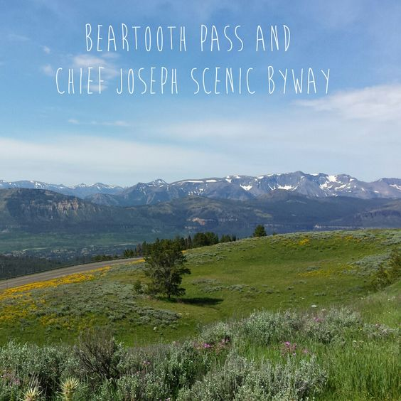 Beartooth Pass and Chief Joseph Scenic Byway - beautiful drive through Montana and Wyoming