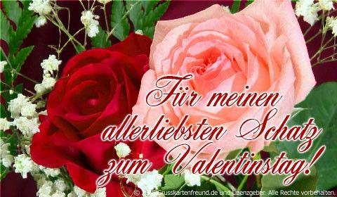 Alles Gute Zum Valentinstag Mein Schatz Mit Bildern Grusse Zum