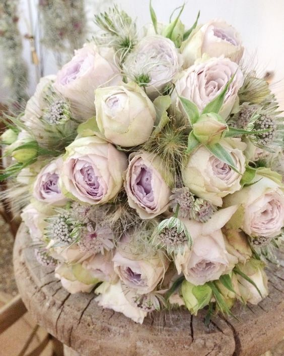 Such an exquisite bridal bouquet by @zita_elze at @bridestheshow in London! The show is open today & tomorrow in Islington. #wedding #weddingflowers