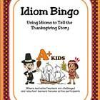 Thanksgiving fun! Help your students improve their vocabulary by understanding the meaning of idioms.  Using a BINGO game format, twenty-four idiom...