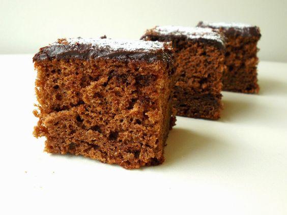 O Meu Tempero: Quadradinhos De Chocolate Com Cobertura De Ganache De Chocolate