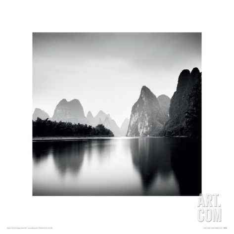 Li River Study Giclee Print by Josef Hoflehner at Art.com