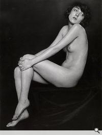 Aktstudie der Tänzerin Claire Bauroff, Wien 1925. Trude Fleischmann; Copyright: Wien Museum
