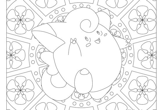 Clefairy Pokemon 035 Pokemon Coloring Pages Pokemon Coloring Pokemon Coloring Sheets