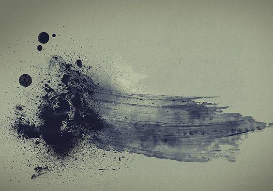 Simple Mind - Grunge Digital Abstract Art by Gordan P. Junior. #art #abstract #wall #modern #prints #
